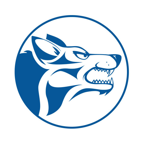 "Cross Country Carriers ""Wolf"" logo"