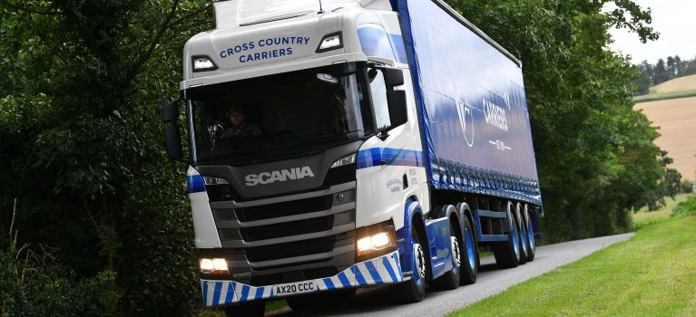 """""""Kerbside Deliveries from Cross Country Carriers"""""""